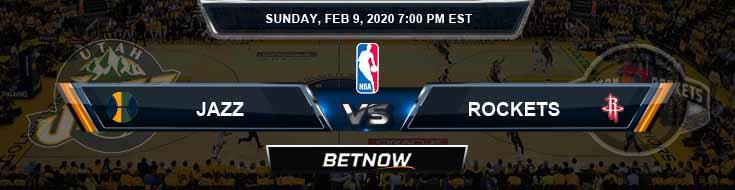 Utah Jazz vs Houston Rockets 2-9-2020 Spread Picks and Game Analysis