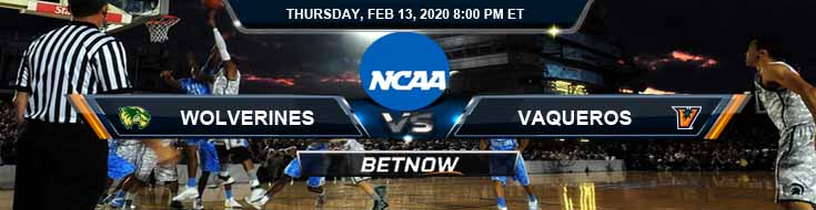 Utah Valley Wolverines vs UTRGV Vaqueros 2/13/2020 Predictions, Spread and Game Analysis