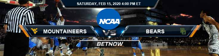 West Virginia Mountaineers vs Baylor Bears 2/15/2020 Predictions, Spread and Game Analysis