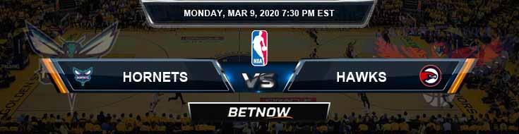 Charlotte Hornets vs Atlanta Hawks 3-9-2020 Spread Picks and Previews