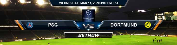 PSG vs Dortmund 03-11-2020 Soccer Picks Betting Predictions and Game Analysis