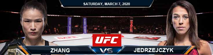 UFC 248 Weili Zhang vs Joanna Jerdrzejczyk 03-07-2020 Game Analysis Betting Predictions and UFC Odds