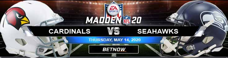 Arizona Cardinals vs Seattle Seahawks 05-14-2020 NFL Madden20 Picks Odds and Football Prediction