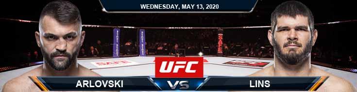 Arlovski vs Lins 05-13-2020 UFC Odds Betting Previews and Picks