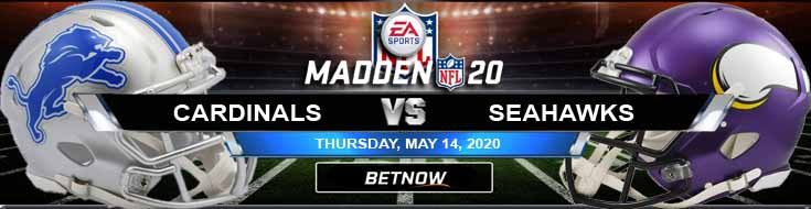 Detroit Lions vs Minnesota Vikings 05-14-2020 NFL Madden20 Predictions Betting Previews and Football Odds