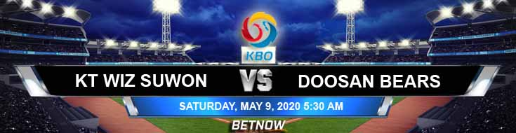 Doosan Bears vs KT Wiz Suwon 05-09-2020 KBO Previews Baseball Betting Picks and Game Analysis