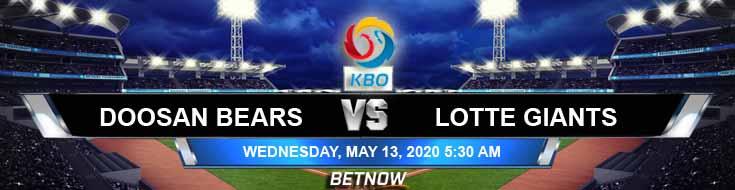 Doosan Bears vs Lotte Giants 05-13-2020 Baseball Betting Odds Predictions and KBO Analysis
