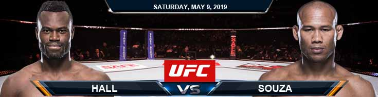 Hall vs Souza 05-09-2020 UFC Odds Forecasts and Predictions