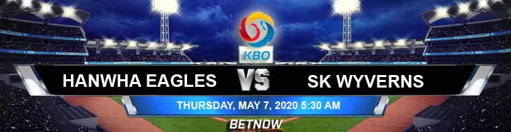 Hanwha Eagles vs SK Wyverns 05-07-2020 KBO Spread Previews and Odds