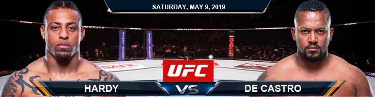 Hardy vs De Castro 05-09-2020 UFC Spread Predictions and Odds