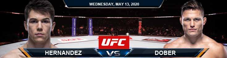 Hernandez vs Dober 05-13-2020 UFC Analysis Previews and Betting Tips