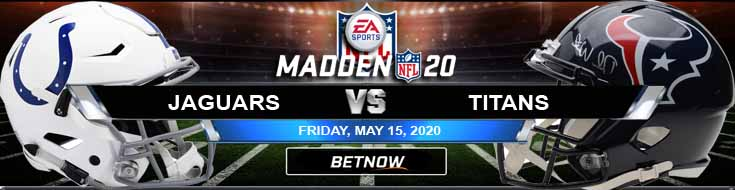 Indianapolis Colts vs Houston Texans 05-15-2020 Madden20 NFL Previews Football Spread and Game Analysis