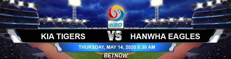 KIA Tigers vs Hanwha Eagles 05-14-2020 KBO Previews Baseball Predictions and Betting Picks