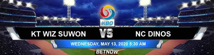 KT Wiz Suwon vs NC Dinos 05-13-2020 KBO Forecast Previews and Baseball Betting Game Analysis