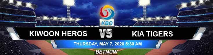 Kiwoom Heroes vs KIA Tigers 05-07-2020 KBO Basketball Betting Game Analysis Odds and Previews