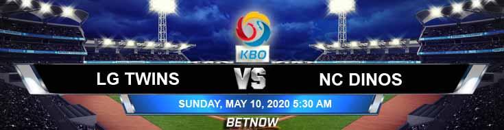 LG Twins vs NC Dinos 05-10-2020 KBO Forecasts Baseball Betting Odds and Predictions