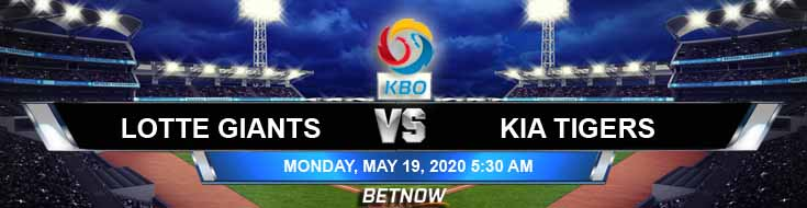 Lotte Giants vs KIA Tigers 05-19-2020 KBO Results Baseball Odds and Betting Picks