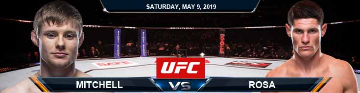 Mitchell vs Rosa 05-09-2020 UFC Fight Analysis Odds and Results