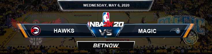 NBA 2k20 Sim Atlanta Hawks vs Orlando Magic 5-6-2020 Odds Picks and Previews