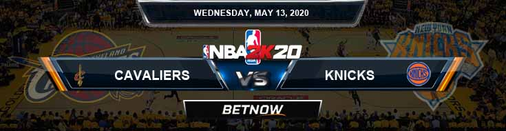NBA 2k20 Sim Cleveland Cavaliers vs New York Knicks 5-13-2020 NBA Odds and Picks