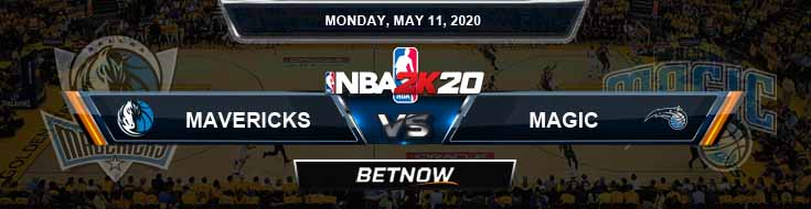NBA 2k20 Sim Dallas Mavericks vs Orlando Magic 5-11-2020 NBA Odds and Picks