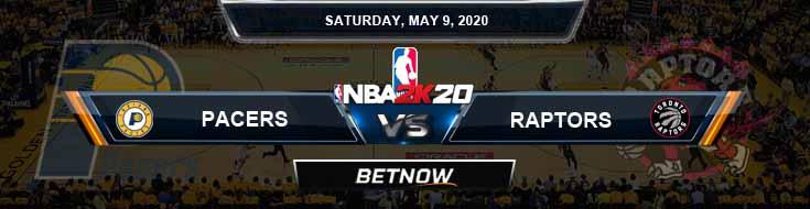 NBA 2k20 Sim Indiana Pacers vs Toronto Raptors 5-9-2020 NBA Odds and Picks