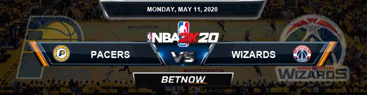 NBA 2k20 Sim Indiana Pacers vs Washington Wizards 5-11-2020 NBA Odds and Picks