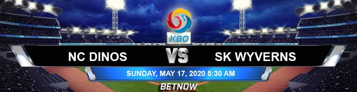 NC Dinos vs SK Wyverns 05-17-2020 KBO Previews Baseball Spread and Betting Tips