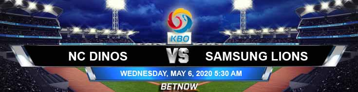 NC Dinos vs Samsung Lions 05-06-2020 KBO Baseball Betting Previews Spread and Picks