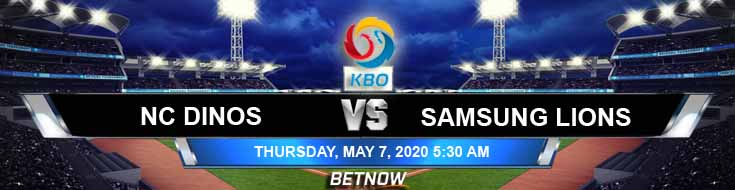 NC Dinos vs Samsung Lions 05-07-2020 KBO Baseball Betting Odds Picks and Previews