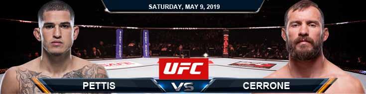 Pettis vs Cerrone 05-09-2020 UFC Betting Odds Previews and Picks