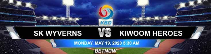 SK Wyverns vs Kiwoom Heroes 05-19-2020 Betting Tips KBO Forecast and Baseball Analysis