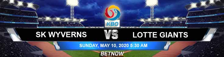 SK Wyverns vs Lotte Giants 05-10-2020 KBO Picks Results and Baseball Betting Previews