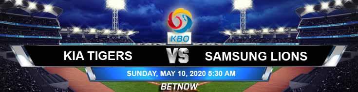 Samsung Lions vs KIA Tigers 05-10-2020 KBO Tips Spread and Baseball Betting Odds