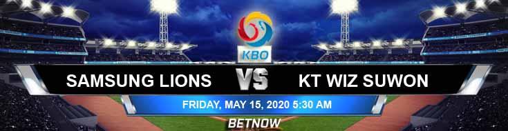 Samsung Lions vs KT Wiz Suwon 05-15-2020 KBO Analysis Baseball Betting Tips and Previews