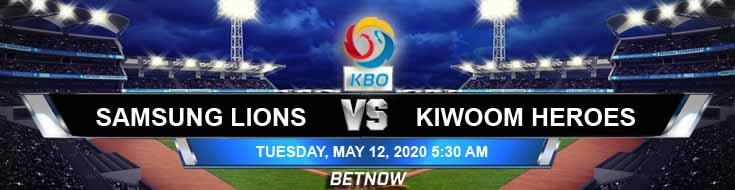 Samsung Lions vs Kiwoom Heroes 05-12-2020 KBO Tips Game Analysis and Baseball Betting Odds