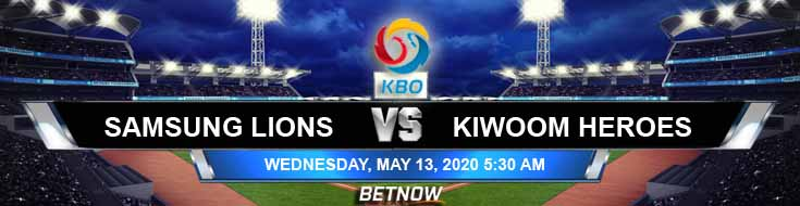 Samsung Lions vs Kiwoom Heroes 05-13-2020 Baseball Forecast Betting Tips and KBO Picks