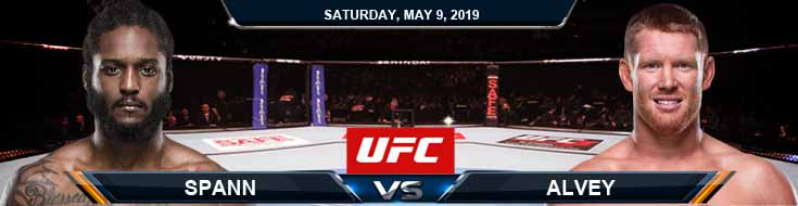 Spann vs Alvey 05-09-2020 UFC Spread Betting Tips and Predictions