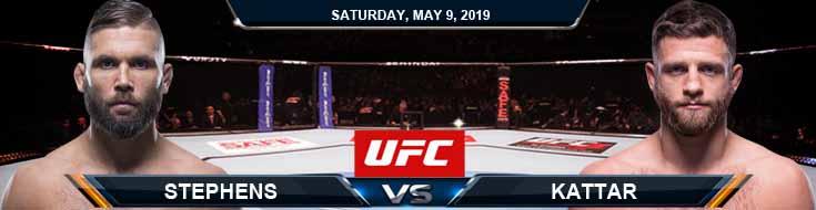 Stephens vs Kattar 05-09-2020 UFC Odds Previews and Picks