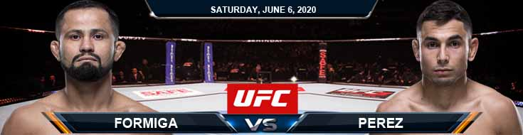 UFC 250 Perez vs Formiga 06-06-2020 UFC Predictions Betting Previews and Spread