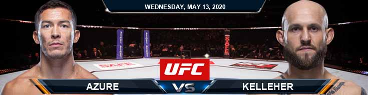 UFC Fight Night 171 Azure vs Kelleher 05-13-2020 UFC Previews Betting Picks and Odds