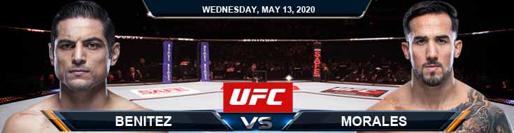 UFC Fight Night 171 Benitez vs Morales 05-13-2020 UFC Fight Analysis Odds and Results