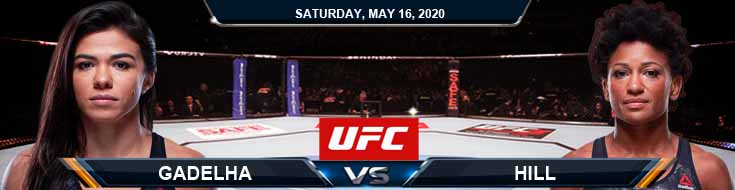 UFC Fight Night 172 Gadelha vs Hill 05-16-2020 Betting Odds UFC Forecasts and Tips