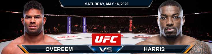 UFC Fight Night 172 Overeem vs Harris 05-16-2020 UFC Picks Betting Predictions and Previews