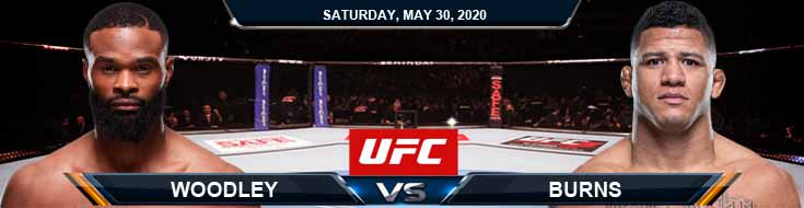 UFC Fight Night 172 Woodley vs Burns 05-30-2020 UFC Picks Predictions and Betting Previews