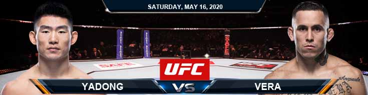 UFC Fight Night 172 Yadong vs Vera 05-16-2020 UFC Spread, Predictions and Analysis