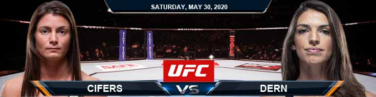 UFC on ESPN 9 Cifers vs Dern 05-30-2020 UFC Tips Betting Odds and Results