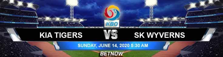 KIA Tigers vs SK Wyverns 06-14-2020 KBO Forecast Betting Odds and Baseball Predictions