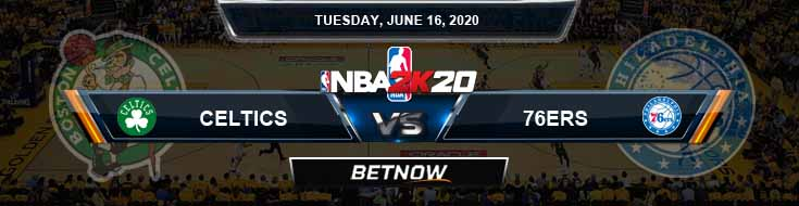 NBA 2k20 Sim Boston Celtics vs Philadelphia 76ers 6-16-2020 NBA Odds and Picks