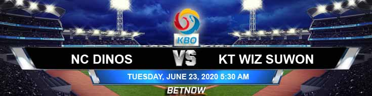 NC Dinos vs KT Wiz Suwon 06-23-2020 KBO Previews Baseball Betting and Forecast